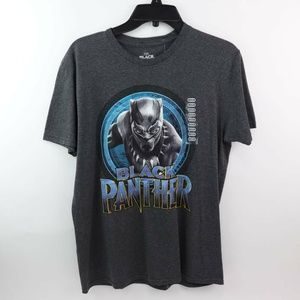 Marvel Black Panther Unisex Graphic Tee Heather Gr